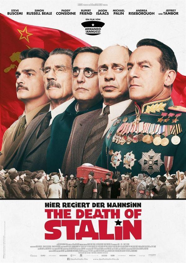 """Hier regiert der Wahnsinn: Zum Kinostart von """"The Death of Stalin"""" verlosen wir tolle Fan-Pakete"""