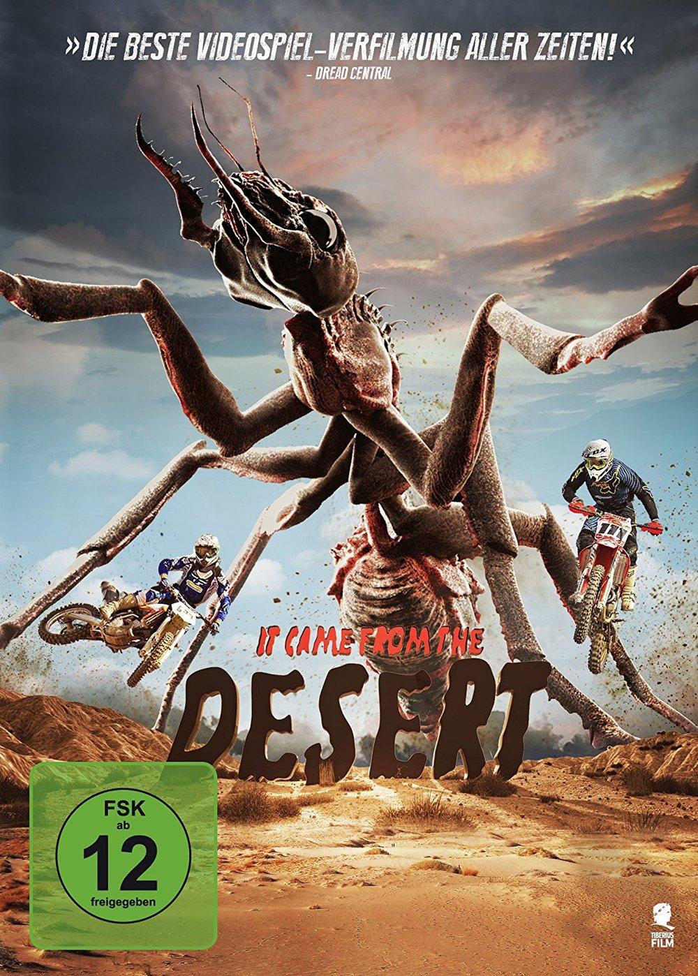 """Tierisch spaßig: Gewinnt eine DVD oder BD zum Horror-Spaß """"It Came from the Desert"""""""