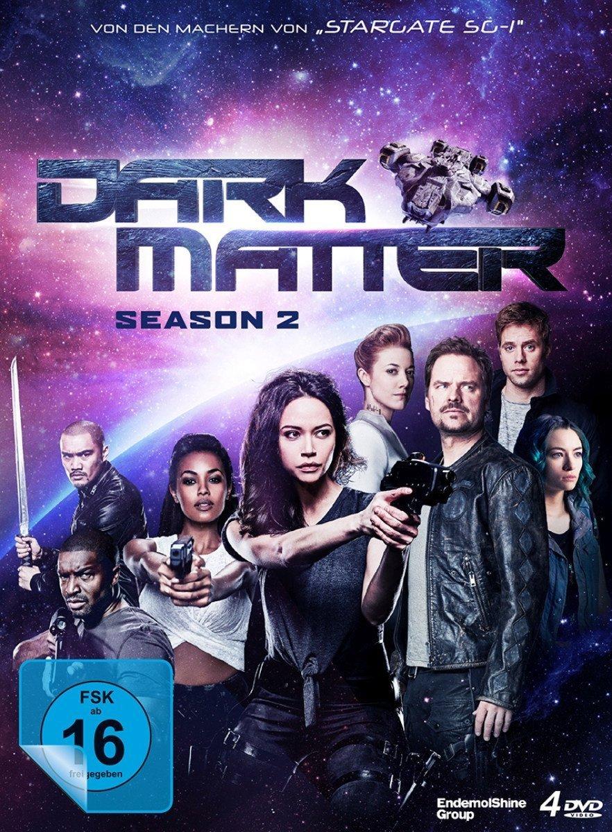 """Rache, Betrug und Geheimnisse: Gewinnt eine DVD zur Sci-Fi-Action-Serie """"Dark Matter"""" - Season 2"""