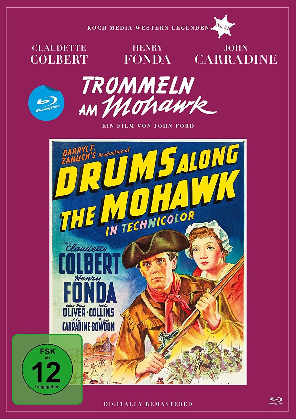 """Zeit für Legenden: Wir verlosen """"Trommeln am Mohawk"""" aus der Edition Western-Legenden auf BD"""
