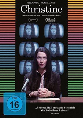 """Bissige Medien-Satire: Wir verlosen """"Christine"""" mit Rebecca Hall auf DVD"""