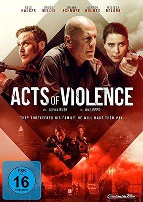 """Bruce Willis ballert sich durch: Wir verlosen """"Acts of Violence"""" auf DVD und BD"""