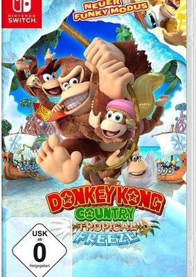 """Affenstark: Wir verlosen zwei Mal das Videospiel """"Donkey Kong Country: Tropical Freeze"""" für Nintendo Switch"""