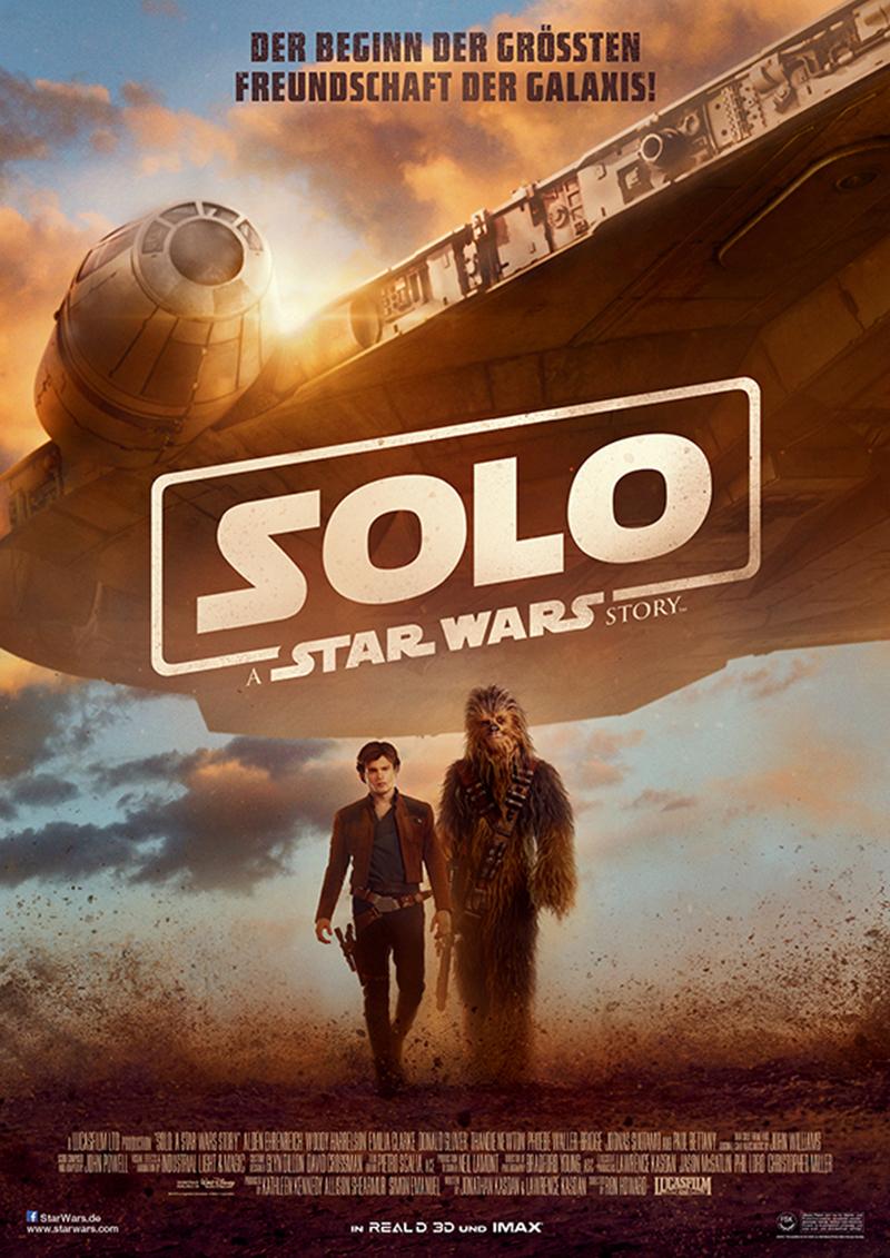 """""""Ich hab ein ganz gutes Gefühl"""": Wir verlosen zum Kinostart von """"Solo: A Star Wars Story"""" ein tolles Fan-Paket"""
