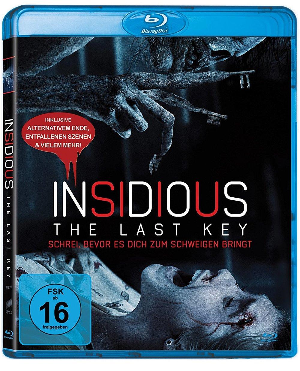 """Der Alptraum ist noch nicht zu Ende: Wir verlosen """"Insidious - The Last Key"""" auf Blu-Ray"""