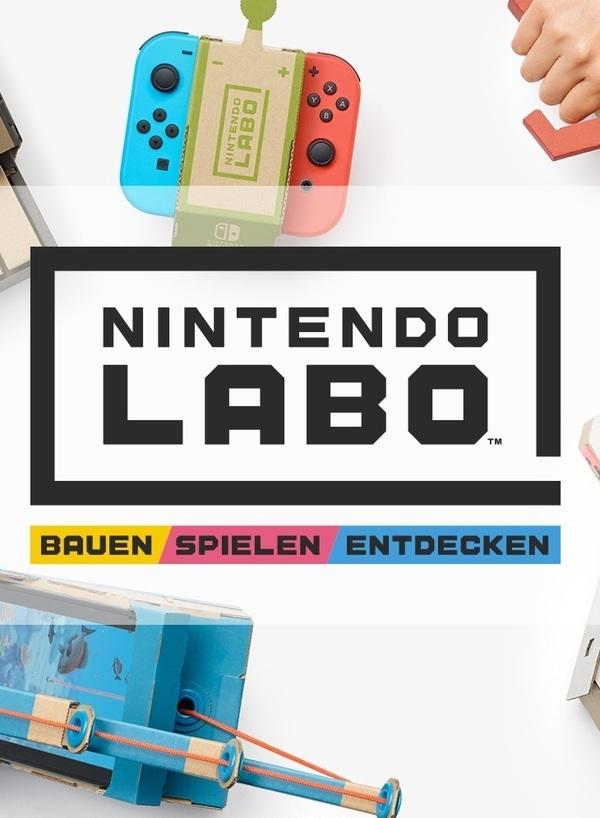 Für kreative Bastler: Wir verlosen zwei Nintendo Labo-Sets für die Switch!