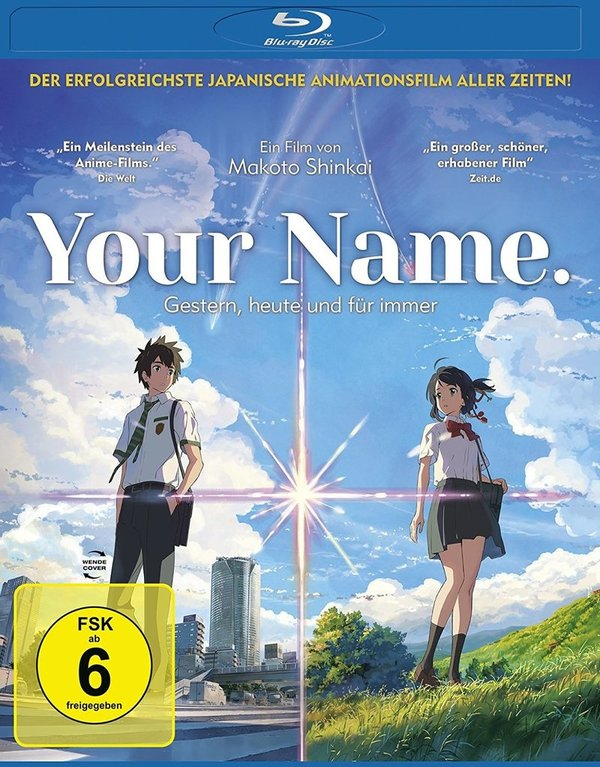 """Zwischen Träumen und Liebe:  Wir verlosen zum gefühlvollen """"Your Name. - Gestern, heute und für immer"""" eine BD und ein Poster"""
