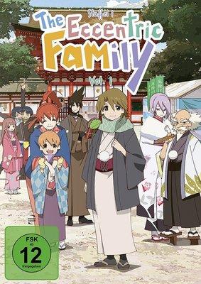 """Wir verlosen die Anime-Serie """"The Eccentric Family - Staffel 1 Vol. 1"""" auf DVD und BD"""
