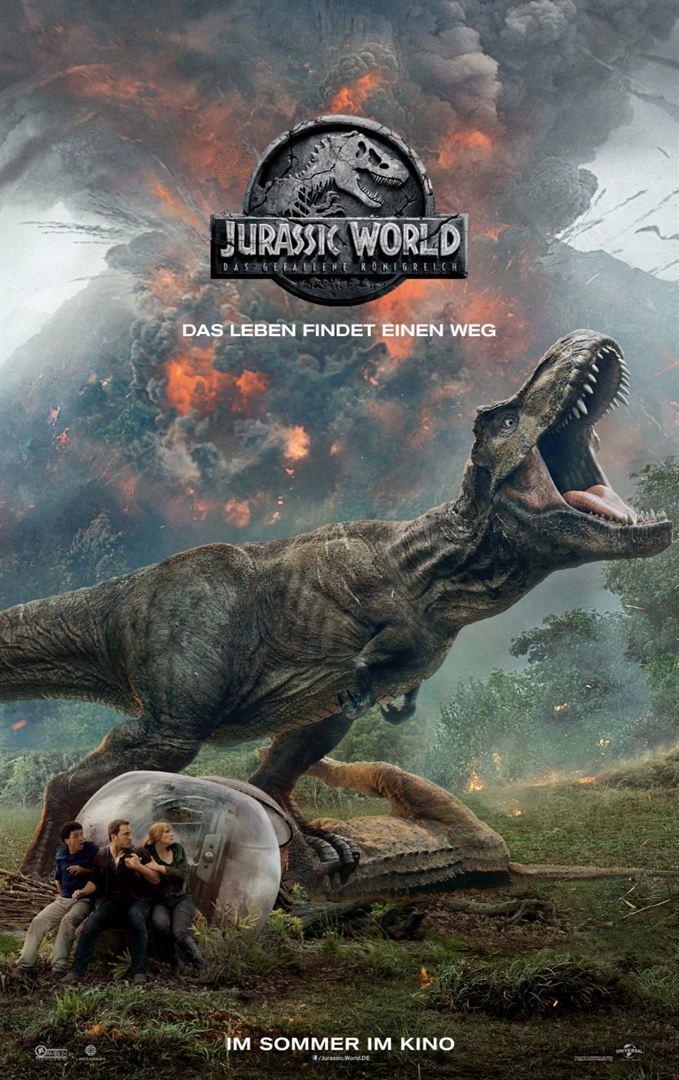 """Die Dinos sind los: Wir verlosen zum Kinostart von """"Jurassic World 2: Das gefallene Königreich"""" ein tolles Fan-Paket"""