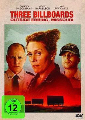 """Die verlosen den meisterhaften """"Three Billboards Outside Ebbing, Missouri"""" auf DVD und BD"""
