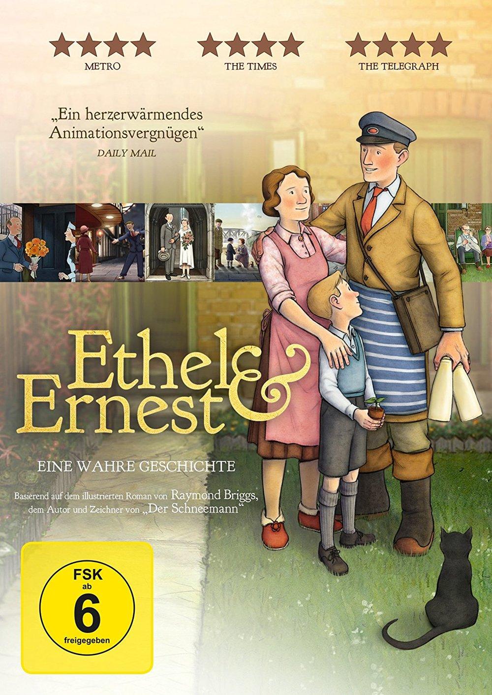 """Animation mit Anspruch: Wir verlosen """"Ethel & Ernest"""" auf DVD"""