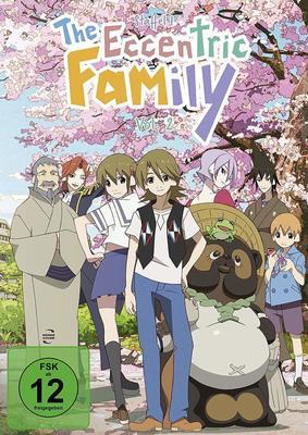 """Wir verlosen Staffel 1, Volume 2, von """"The Eccentric Family"""" einmal auf DVD und einmal auf BD"""