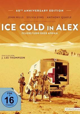 """Wir verlosen eiskalt """"Ice Cold in Alex - Feuersturm über Afrika"""" auf DVD und BD"""
