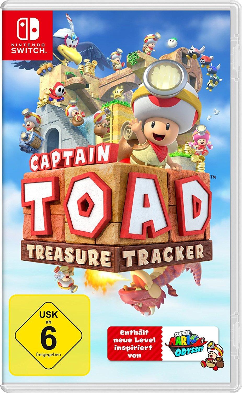 """Wir verlosen zwei Fanpakete zu """"Captain Toad: Treasure Tracker"""", wahlweise für Nintendo Switch oder 3DS"""