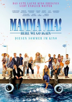 """Purer ABBA Spaß: Zum Kinostart von """"Mamma Mia: Here We Go Again!"""" verlosen wir ein tolles Fan-Paket"""
