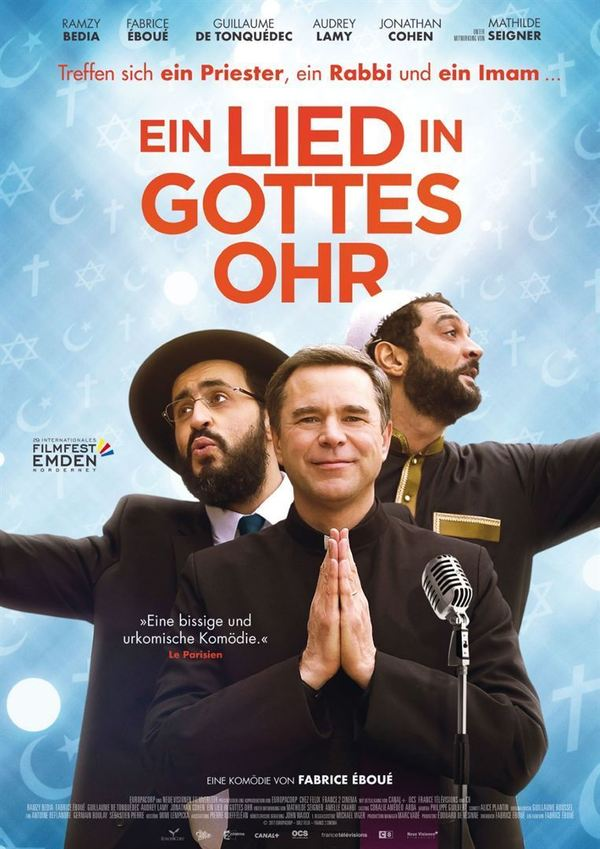 """In Musik vereint: Zum Kinostart der französischen Komödie """"Ein Lied in Gottes Ohr"""" verlosen wir ein Fan-Paket"""