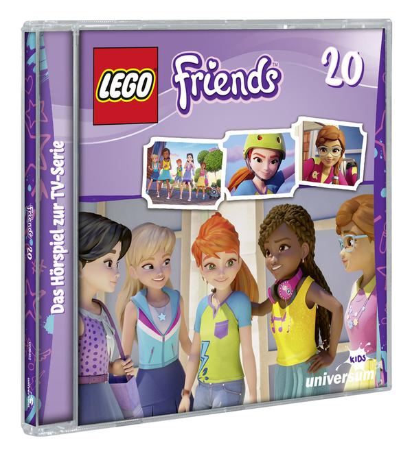 Wahre Freundschaft: Wir verlosen zum neuen Lego Friends Hörspiel Abenteuer (CD 20) ein Exemplar
