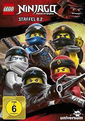 """Jede Menge Ninja Power: Wir verlosen zum Start von """"Lego Ninjago - Staffel 8.2"""" ein tolles Paket aus DVD und CDs"""