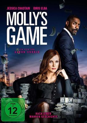 """Zwischen Glück und Macht: Wir verlosen zum Heimkinostart von """"Molly's Game - Alles auf eine Karte"""" ein Fan-Paket"""