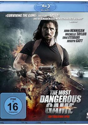 """Gnadenlose Menschenjagd: Wir verlosen zum Action-Thiller """"The Most Dangerous Game"""" eine BD"""