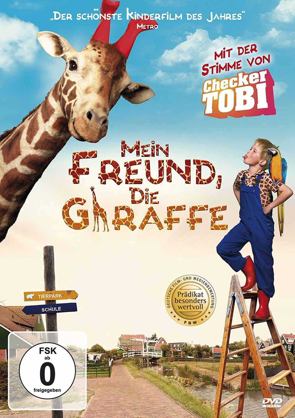 """Frech und herzerwärmend: Wir verlosen zu """"Mein Freund, die Giraffe"""" eine DVD oder BD"""