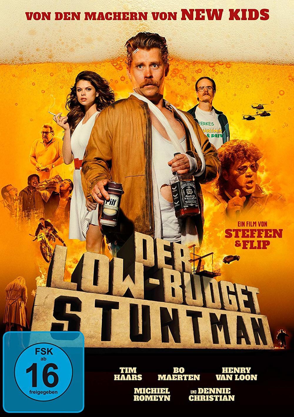 """Der neue Film der """"New Kids""""-Macher: Wir verlosen zu """"Der Low-Budget Stuntman"""" eine DVD oder BD"""