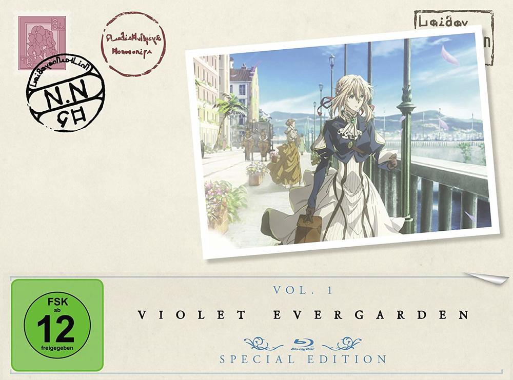 """Wunderschön und gefühlvoll: Wir verlosen zum fantastischen """"Violet Evergarden Vol. 1"""" eine DVD/BD"""
