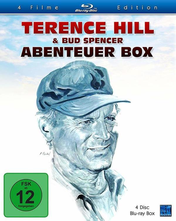 """Kult in HD: Wir verlosen die """"Terence Hill & Bud Spencer - Abenteuer Box"""" auf BD"""
