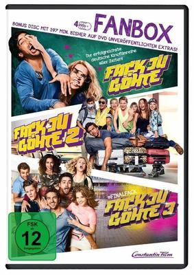 """Chaos in der Schule: Wir verlosen die """"Fack Ju Göhte 1-3 - Fan Box"""" auf DVD"""