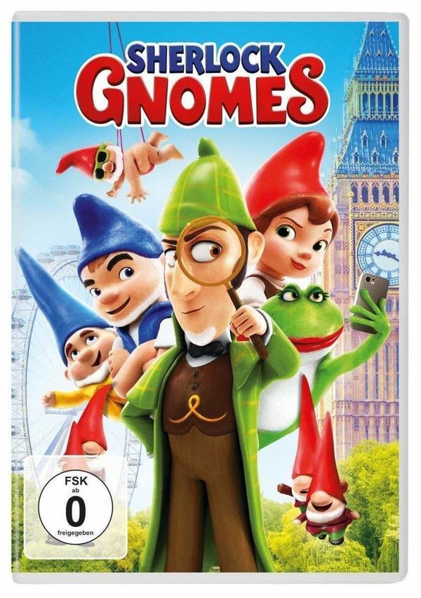 """Gut Kombiniert: Wir verlosen das Animationsabenteuer """"Sherlock Gnomes"""" auf DVD oder BD"""