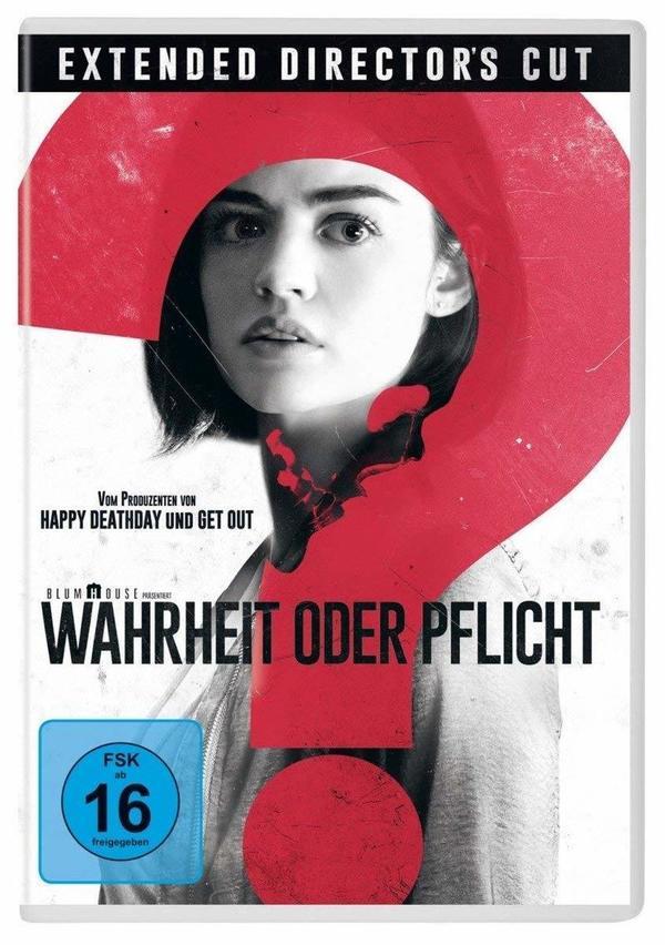 """Spiel mit: Wir verlosen das Horror-Ereignis """"Wahrheit oder Pflicht"""" auf DVD oder BD"""