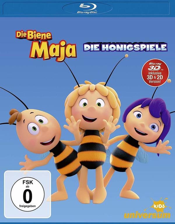 """Das nächste Summtastische Abenteuer: Wir verlosen zum Heimkinostart von """"Die Biene Maja - Die Honigspiele"""" ein tolles Fan-Paket"""