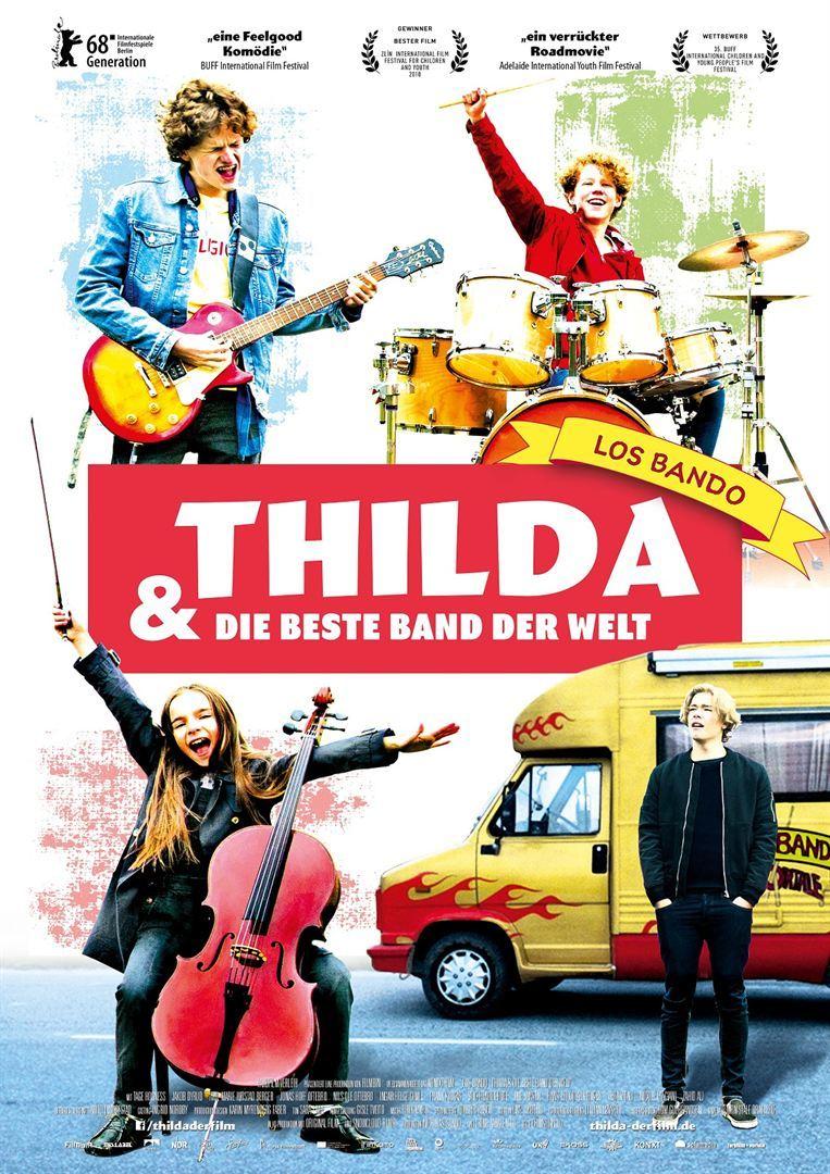"""Mit dem Cello zum Rockfestival: Zum Kinostart von """"Thilda & die beste Band der Welt"""" verlosen wir Freikarten"""