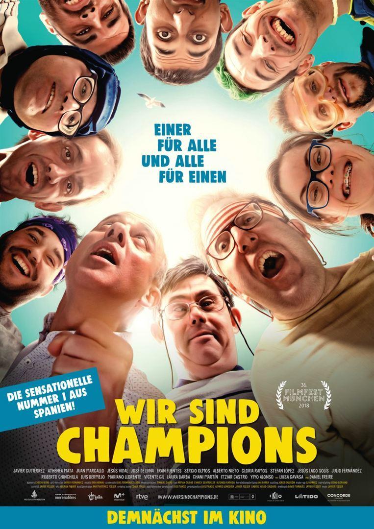 """Einer für alle, und alle für einen: Zum Kinostart von """"Wir sind Champions"""" verlosen wir Freikarten"""