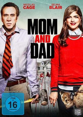 """Eltern vs. Kinder: Wir verlosen den spaßigen Horror-Thriller """"Mom and Dad"""" mit Nicolas Cage auf DVD oder BD"""