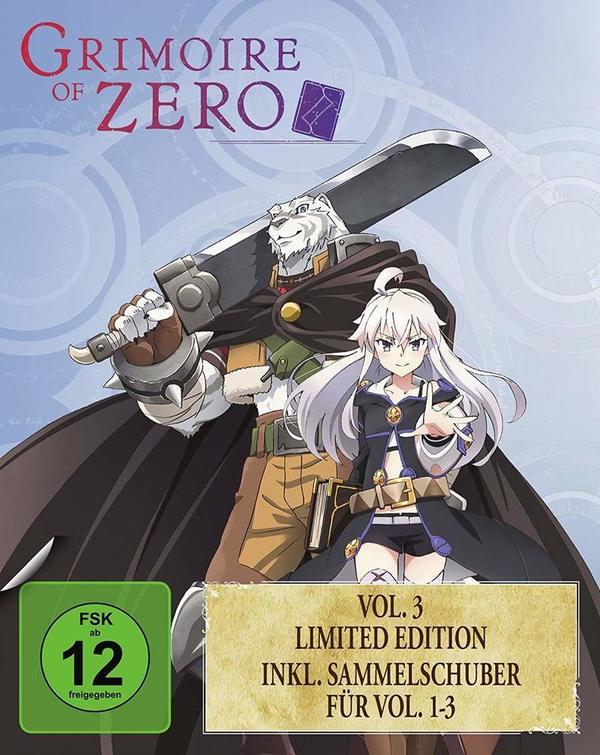 """Anime-Fans aufgepasst: Wir verlosen die Limited Edition von """"Grimoire of Zero Vol. 3"""" auf BD"""