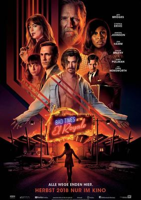 "Good Time dank ""Bad Times at the El Royale"": Wir verlosen zum Kinostart Freikarten mit Poster"