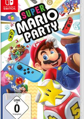"""Wir verlosen zwei Fanpakete zu """"Super Mario Party"""" für Nintendo Switch!"""