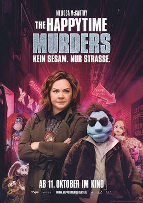 """Zum Kinostart des zotigen Puppenfilms """"The Happytime Murders"""" verlosen wir 2 x 2 Freikarten"""