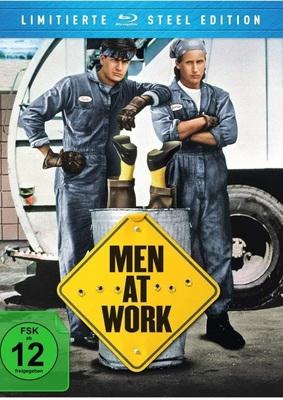 """Charlie Sheen als Müllmann: Wir verlosen die Kultkomödie """"Men at Work"""" auf BD (Limited FuturePak Steel Edition)"""