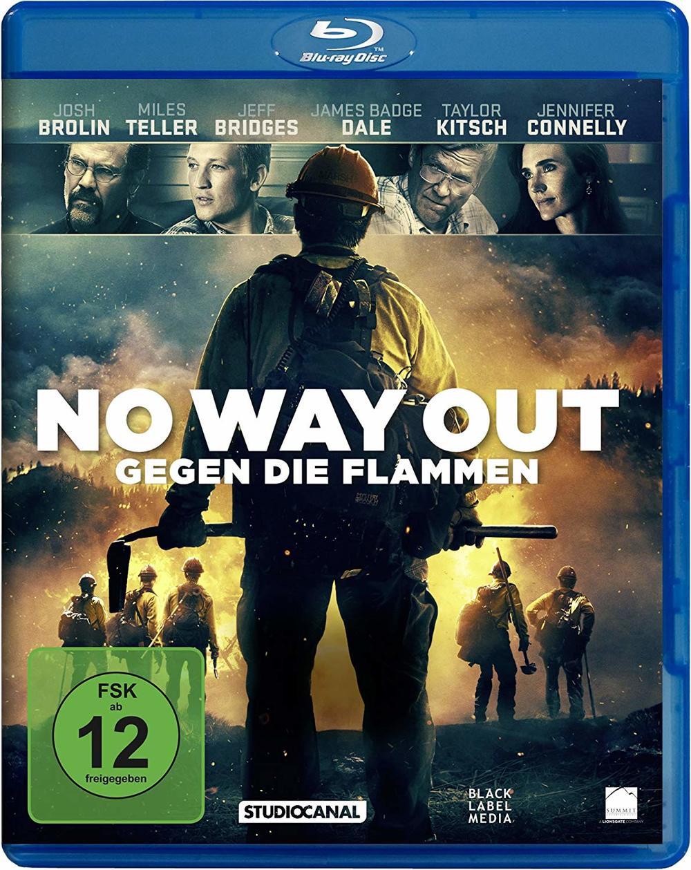 """Feurig und in bester Auflösung: Wir verlosen """"No Way Out - Gegen die Flammen"""" auf BD und 4K UHD Blu-ray"""
