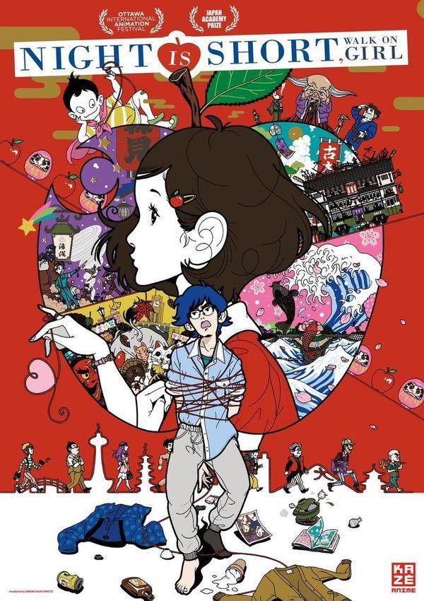 "Kazé Anime Night: Gewinnt zum Kino-Highlight ""Night is Short, Walk on Girl"" am 30.10. Kinokarten"