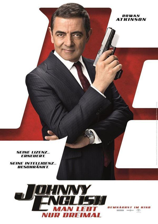 """Der Spion mit der Lizenz zum Blödeln: Zum Kinostart von """"Johnny English - Man lebt nur dreimal"""" verlosen wir tolle Fan-Pakete"""