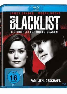 """Die geheime Liste: Wir verlosen die komplette fünfte Staffel der Serie """"The Blacklist"""" auf Blu-ray"""