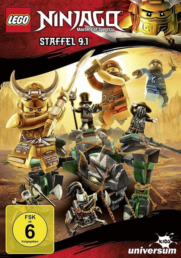 """Der Lego-Kampf geht weiter: Wir verlosen zu """"Lego Ninjago - Staffel 9.1"""" eine DVD sowie die passenden Hörspiele"""