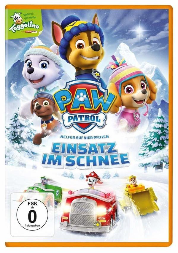 """Für die Kids: Wir verlosen """"Paw Patrol - Einsatz im Schnee"""" auf DVD"""