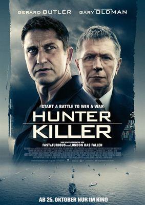 """Am Rand des dritten Weltkriegs: Zum Kinostart von """"Hunter Killer"""" verlosen wir tolle Fan-Paket mit Freikarten"""
