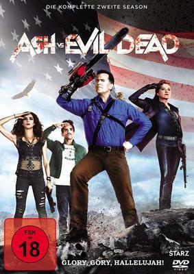 """Groovy: Wir verlosen die zweite Staffel von """"Ash vs. Evil Dead"""" auf DVD und BD"""