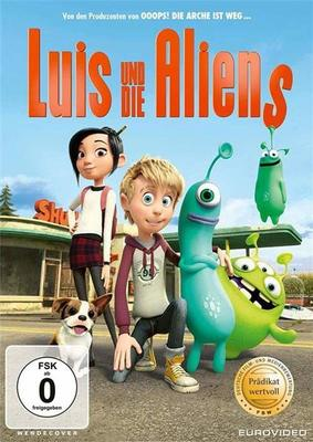 """""""Luis und die Aliens"""": Wir verlosen die Animationsspaß auf DVD und BD"""
