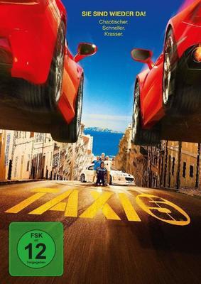 """Vollgas in die fünfte Runde: Wir verlosen """"Taxi 5"""" auf BD und DVD"""